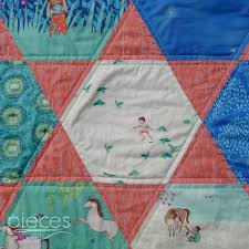 Pieces by Polly: Giant Hexies Quilt with Wee Wander Fabrics - FREE ... & Plus I think the star patterns created by the triangles fits with the  fireflies that show up on several of the prints. Adamdwight.com