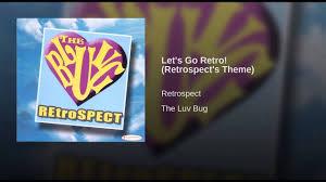 Lets Go Retro Retrospects Theme