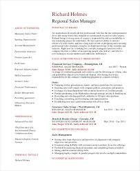 Area Sales Manager Resume Sales Manager Resume Template 7 Free Word Pdf Documents Download
