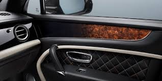 2018 bentley suv. simple suv custom car interior design on the passenger side door of bentayga  mulliner  bentley motors with 2018 bentley suv e