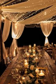wedding lighting ideas reception. Delighful Reception Candles On The Tables And Light Strings Over Reception Will Make A Cool  Ambience On Wedding Lighting Ideas Reception