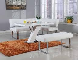 furniture chnook corner white dining setting kitchen dinette sets high class fresno california chlinden highclass p