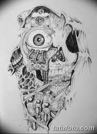 тату эскизы мужские черно белые 09032019 037 Tattoo Sketches