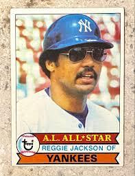 Reggie Jackson 1979 Topps New York ...