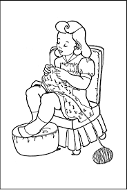 Girls Coloring Pages Free