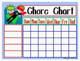 15 Free Printable Chore Charts Organizing Family