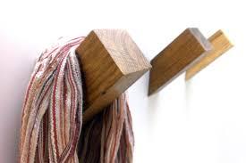 Wooden Pegs For Coat Rack Oak Wall Hook Wooden Coat Hook Coat Rack Modern Wooden Hook Home 61