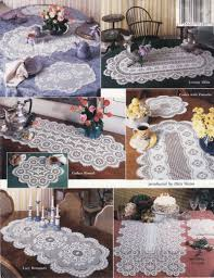 Crochet Table Runner Patterns Easy Unique Decoration