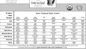 Light Mountain Color The Gray Henna Hair Color