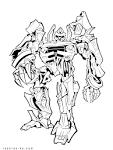 Раскраски трансформеры в онлайне для мальчиков