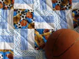 73 best Bloggers about Baby Quilts images on Pinterest | Baby ... & Sports Theme Baby Quilts, sports-theme baby quilt, personalized homemade  baby quilt with an original sports design, homemade baby quilt Adamdwight.com