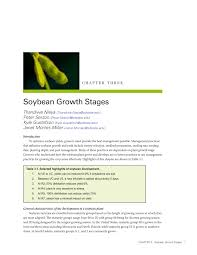 Pdf Soybean Growth Stages