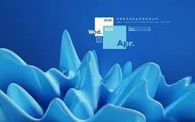 an animated desktop wallpaper : Rainmeter