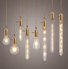 dimmable e27 led edison cob bulbs retro classic filament retro globe lighting ac220v