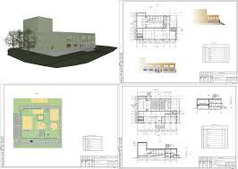 Курсовые и дипломные проекты общественное здание скачать dwg  Курсовой проект Многофункциональный центр досуга 39 х 27 м в Уфимской области