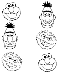 Educations Thanksgiving Sesame Street Coloring Pages 10 Free