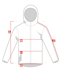 Jacket Length Chart Sweet Protection Outerwear Size Chart