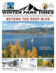 October 11 2019 Winter Park Times By Winter Park Times