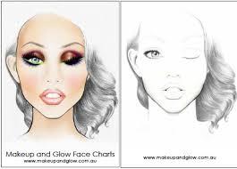 Textured Paper For Face Charts Print Makeup Face Charts Saubhaya Makeup