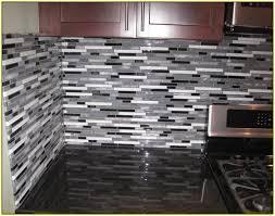 brilliant amazing black glass tile backsplash glass mosaic tile backsplash home design ideas