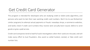 We did not find results for: Get Credit Card Number For Free Elfqrin
