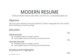 Best Resume Objective Samples Free Resume Templates 2018
