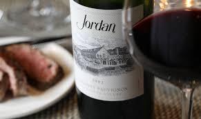 jordan wine. other observations: jordan wine