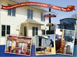 Midland Continental Depot Transportation Museum Featuring <b>Peggy</b> ...