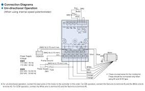 item es02 ac speed controller on oriental motor u s a corp connection diagram