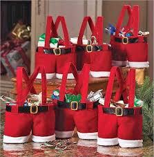 Santa Claus Pants Spirit Candy Bags Kids Treat Christmas Gifts Bags Goody  Bag LG Christmas Gift Santa Gift Santa Decaration Online with $2.06/Piece  on ...