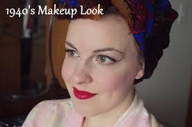 tutorial tuesday 1940 s makeup