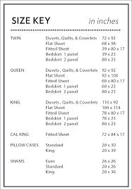 Sheet Measurement Chart Flat Sheet Sizes Lingeriestar Co