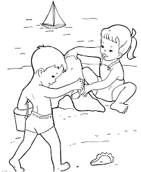 Small Picture Color Pages Beach printable beach coloring pages coloring me fun