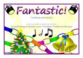 Printable Christmas Certificates Printable Christmas Award Certificates for Primary KS100 KS100 56