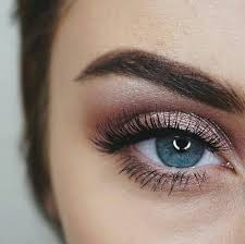 do you want to try rose gold eye makeup on your eyes watch this video now