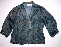 Details About Chicos Design Sheer Black Gold Blouse 1 Top Shirt Womans