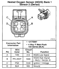 ls1 page 1 bosch 4 wire universal o2 sensor instructions at 4 Wire Oxygen Sensor Schematic