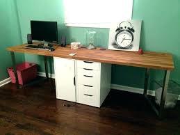 narrow desk with shelves ileciporg