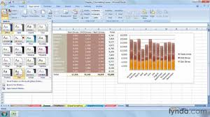 Excel Themes How To Use Themes In Excel Lynda Com Tutorial Youtube