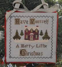Christmas Cross Stitch Charts Merry Little Christmas Cross Stitch Chart