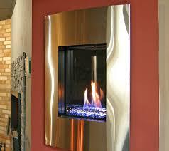 modern gas burning stove at