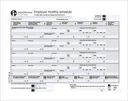 Work Schedule Template Monthly Printable Schedule Template