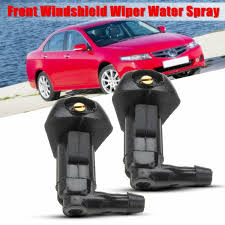 2005 Honda Accord Heated Seat Light Bulb Us 1 68 6 Off 2pcs Car Windshield Wiper Water Spray Jet Washer Nozzle For Honda Accord 2003 2004 2005 2006 2007 In Windscreen Wipers From