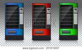 Empty Vending Machine Impressive Vending Machine Vector Photo Free Trial Bigstock