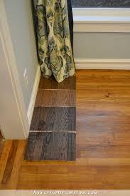 minwax stain colors tested on red oak hardwood flooring jacobean dark walnut