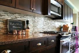 Kitchen backsplash glass tile dark cabinets Oak Kitchen White Modern Glass Tile Backsplash With Dark Cabinets Google Search Pinterest Modern Glass Tile Backsplash With Dark Cabinets Google Search