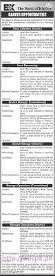 latest govt jobs in lahore karachi islamabad we new career jobs bok bank of khyber jobs for head liabilities islamic head resourcing