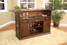 back end view for a smaller design this home bar offers some great features
