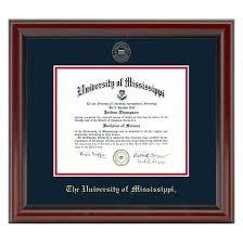 ole miss diploma frame fidelitas graduation gift