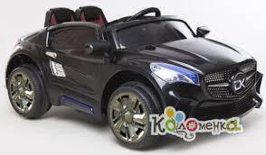 Детский <b>электромобиль Joy Automatic</b> Mercedes S LUX черный